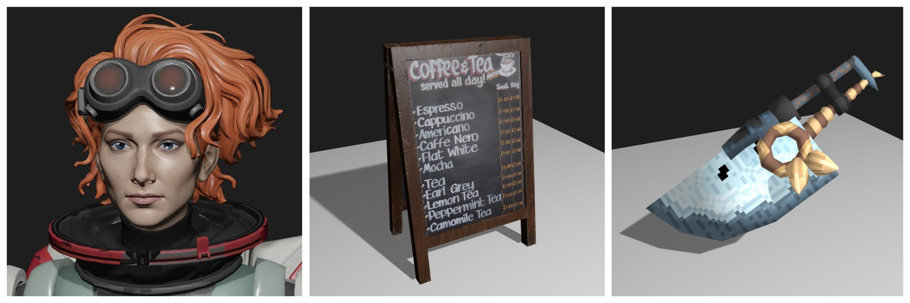 Render Apex Legend Horizon, Cafe Menu Chalkboard, Gossblade Greatsword (MHR)