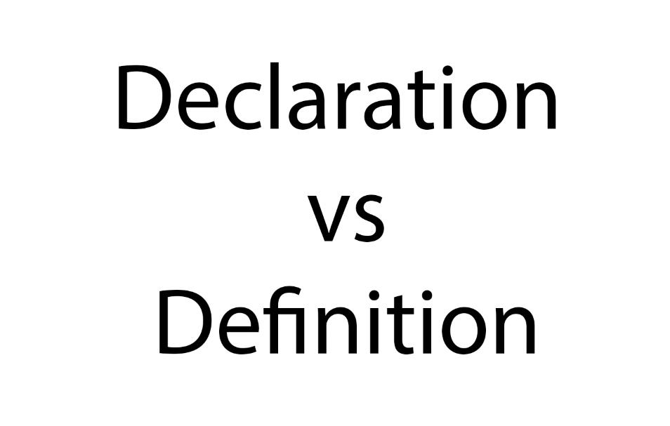 不要再混淆 C 语言变量的声明和定义