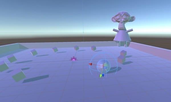 Unity游戏画面