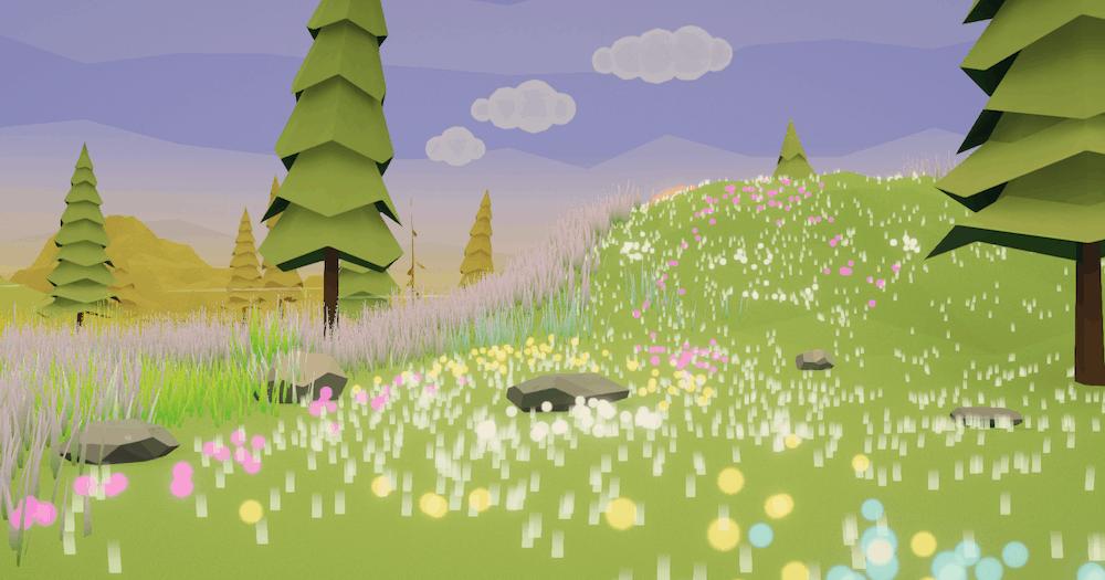 Sky's Stylized Grass in Unity