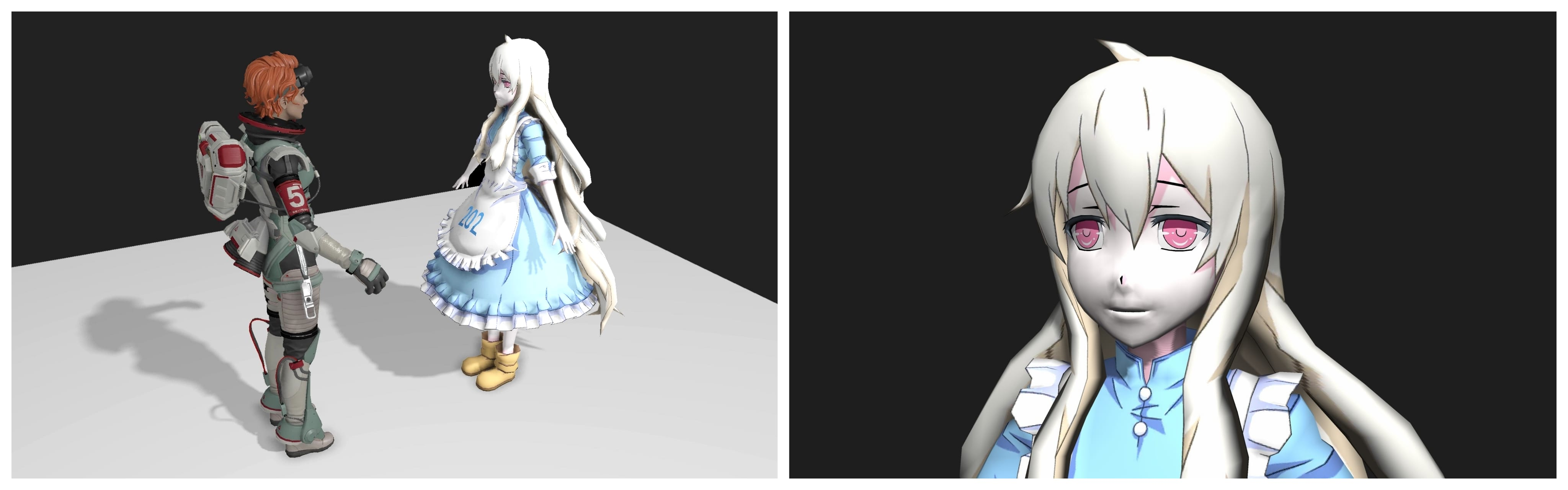 Support PBR, Shadow Effect (PCSS), SSAO